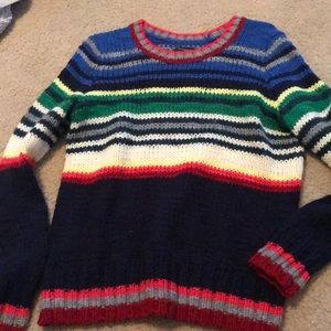 American eagle colorful sweater size medium